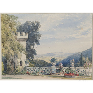 Drawing - Souvenirs of Rosenau, the birthplace of H.R.H, the Prince Consort, Husband of Queen Victoria