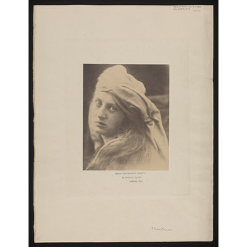 Photograph - A Study of the Cenci