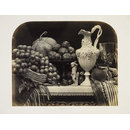 Still Life with Parian Vase, Grapes and Silver (Photographs)