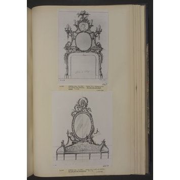 Drawing - A Miscellaneous Collection of Original Designs, made, and for the most part executed, during an extensive Practice of many years in the first line of his Profession, by John Linnell, Upholsterer Carver & Cabinet Maker. Selected from his Portfolio's at his Decease, by C. H. Tatham Architect. AD 1800.