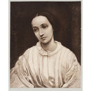 Julia Margaret Cameron portrait painted by G. F. Watts (photograph)