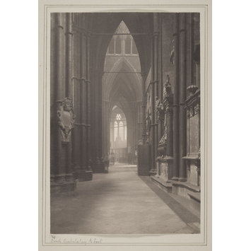 photograph - Westminster Abbey, No 31