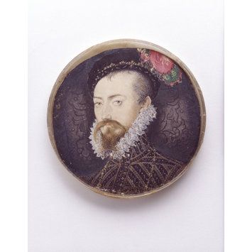 Miniature - Robert Dudley, Earl of Leicester