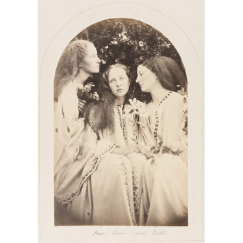 Photograph - The Three Sisters / Peace, Love and Faith