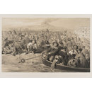 Embarkation of Russian Prisoners at Bomarsund (Print)