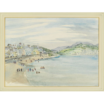 Watercolour - Lyme Regis; Front