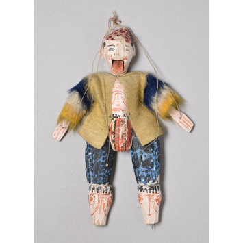 Marionette, puppet male figure - mountebank/buffoon