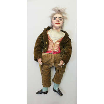 Ventriloquist's figure - Granville.  Vent doll, 19th century.