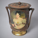 Lady Blessington Vase (Biscuit tin)