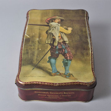 Biscuit tin - Musketeer