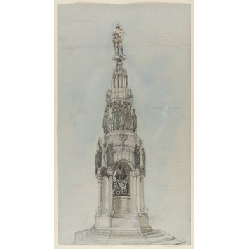 design - Unexecuted design for a First World War Memorial