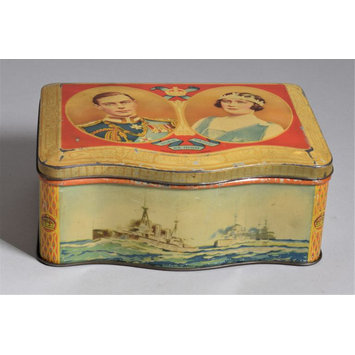 Biscuit tin - Coronation