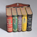 Bookstand (Biscuit tin)