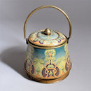 Art Nouveau Barrel (Biscuit tin)