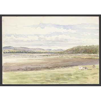 drawing - Kirkcudbright Bay